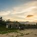 Sunset on Lang Co beach