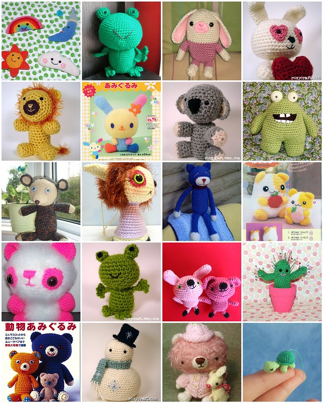 Amigurumi Creations from Flickr, collected by iHanna