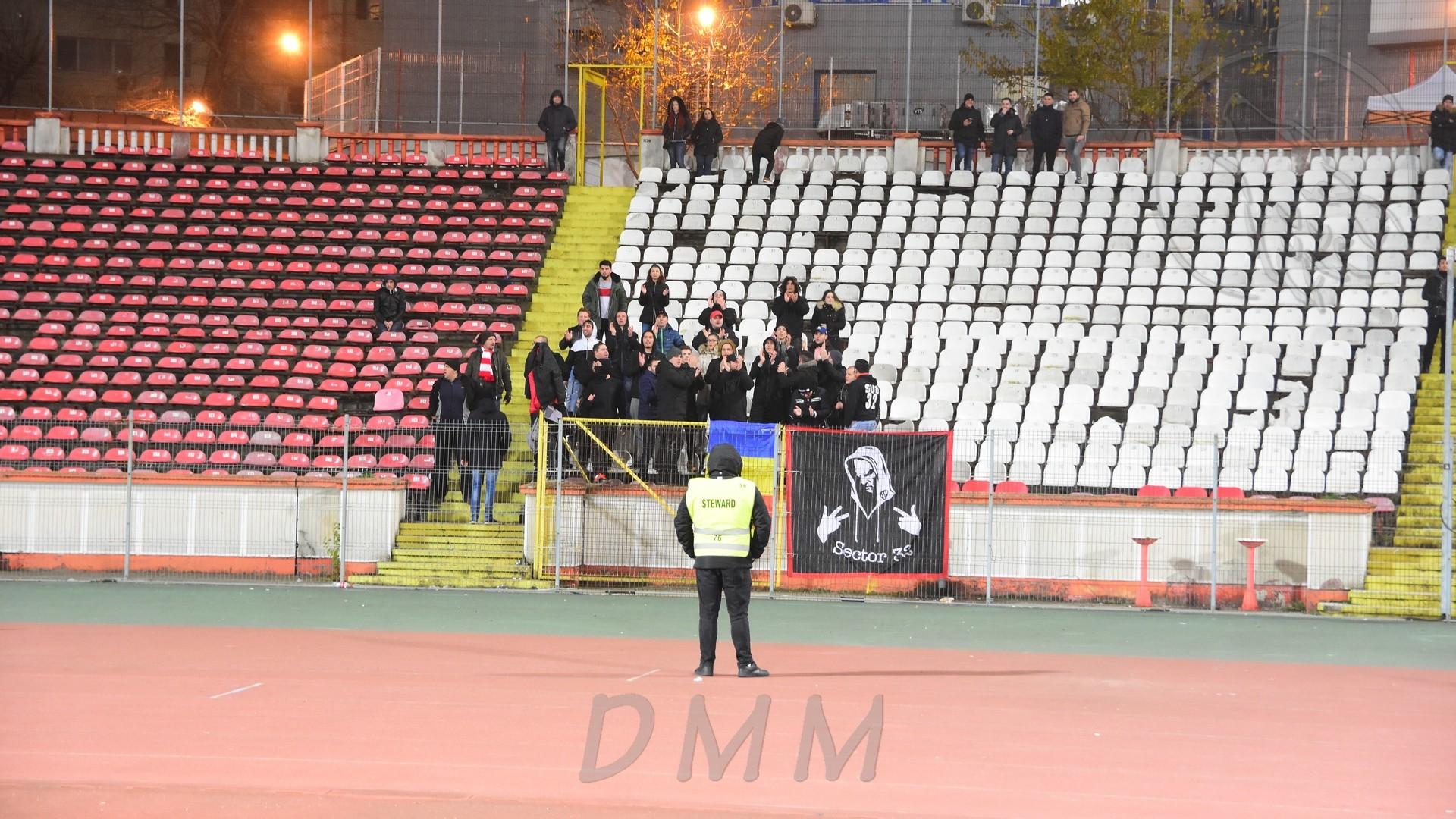 Dinamo - CSMS Iasi 2-1