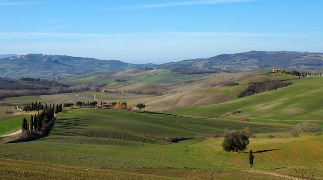 Landscape near Pienza