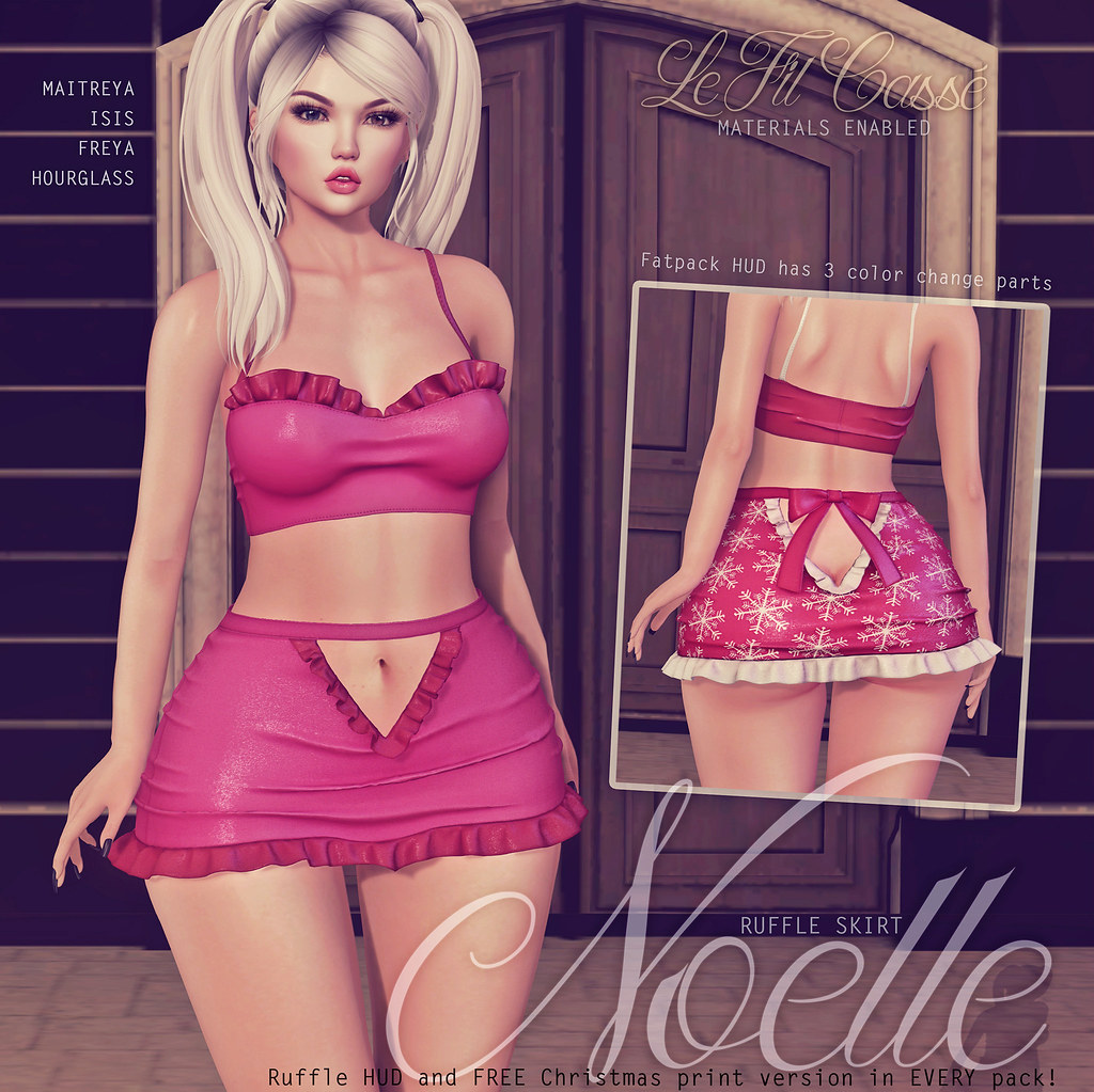 {le fil cassé} Noelle Skirt for Tannenbaum!