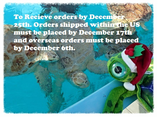 Turtles and santa plush 2a