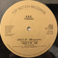 S.D.C. PRODUCTIONS:JUICE IT UP(LABEL SIDE-B)