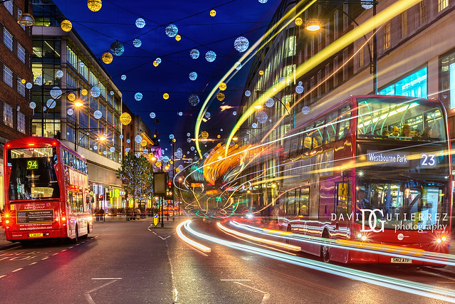 Christmas Ready - Oxford Street, London, UK
