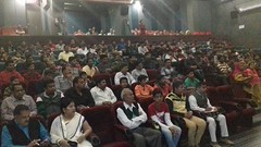 विवेकानन्द केन्द्र द्वारा एकनाथजी फिल्म का क्रिस्टल पार्क में प्रदर्शन
