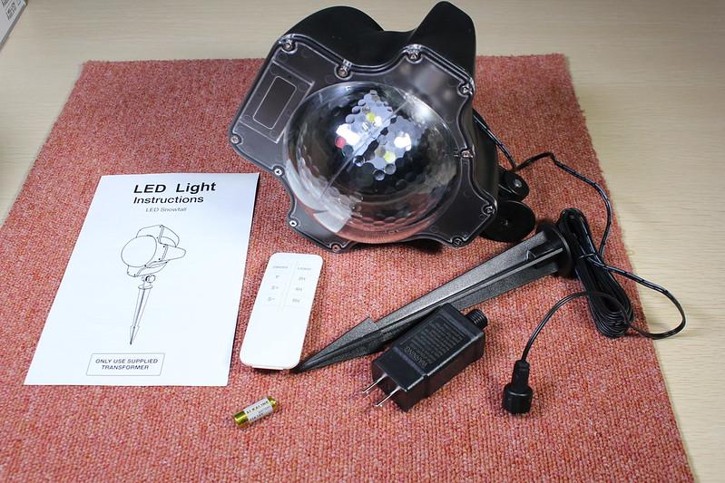 dodocool LED投影ランプ (5)