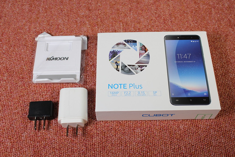 cubot note plus 開封レビュー (1)