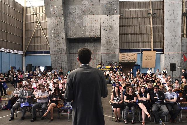Encuentros con el Alcalde - Gimnasio Santiago