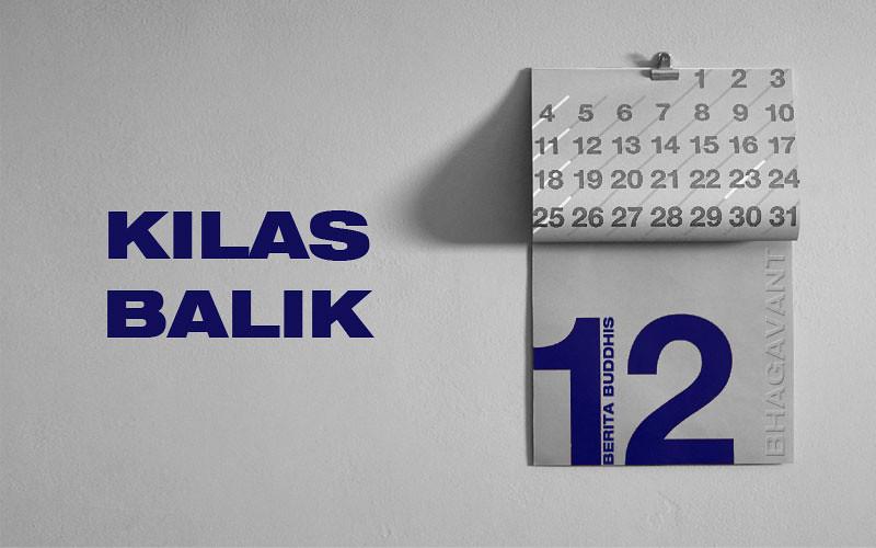 kalender kilas balik berita Buddhis