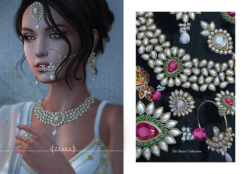 {Zaara} Shairi jewelry for C88