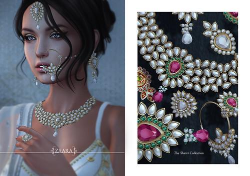 {Zaara} Shairi jewelry for C88
