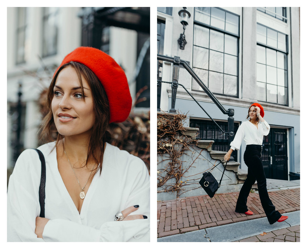 The Little Magpie Red Beret Amsterdam
