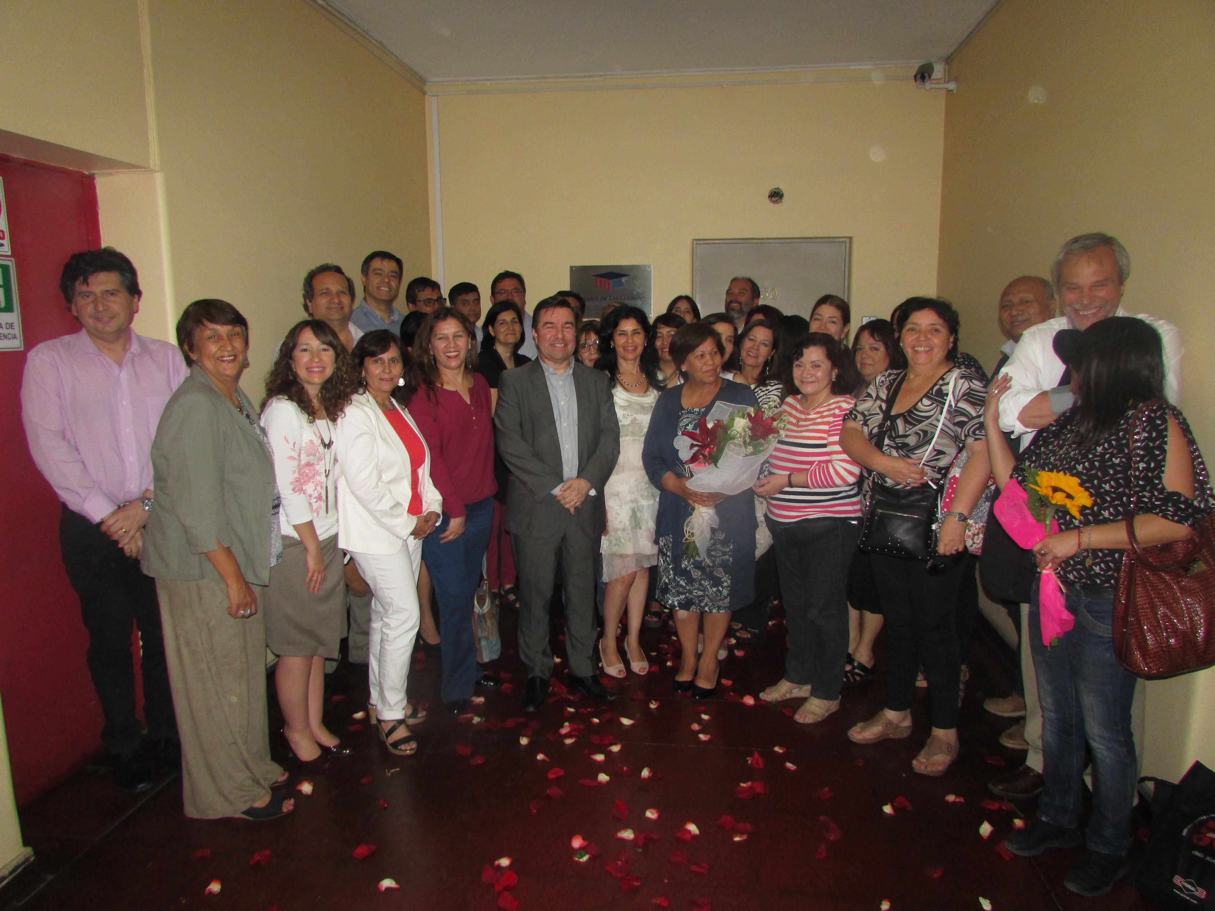 Emotiva despedida a Rosita Pino, presidenta AET, que jubila - 07 Diciembre 2017