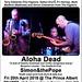The Near Jazz Experience / Aloha Dead / Simon&thePope @ The Prince Albert, Brighton - 20/04/18