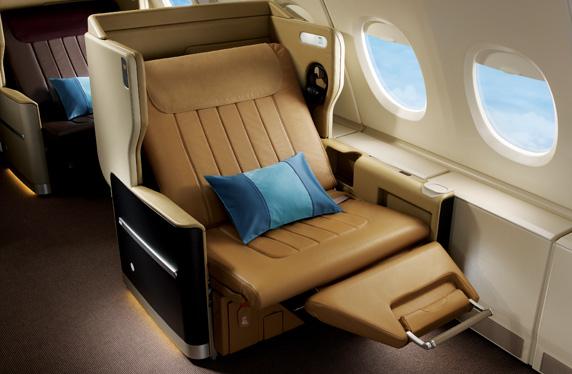 171201 シンガポール航空B777-300ERビジネスクラス