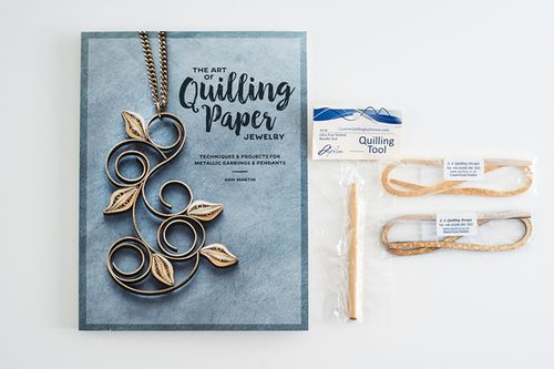 The Art of Quilling Paper Jewelry with Quilling Supplies