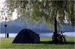 The camp in Austria