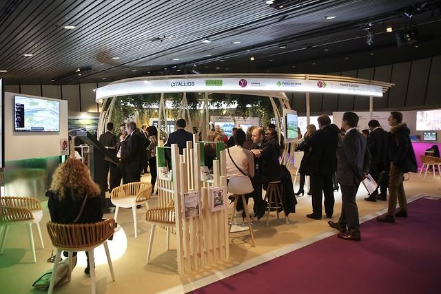 SIMI Salon de l'immobilier d'entreprise au Palais des Congrès à Paris
