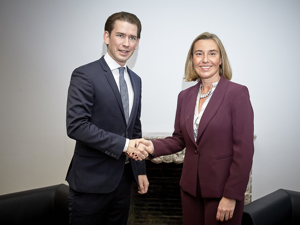 Mogherini at the 3574th Foreign Affairs and Defenc…