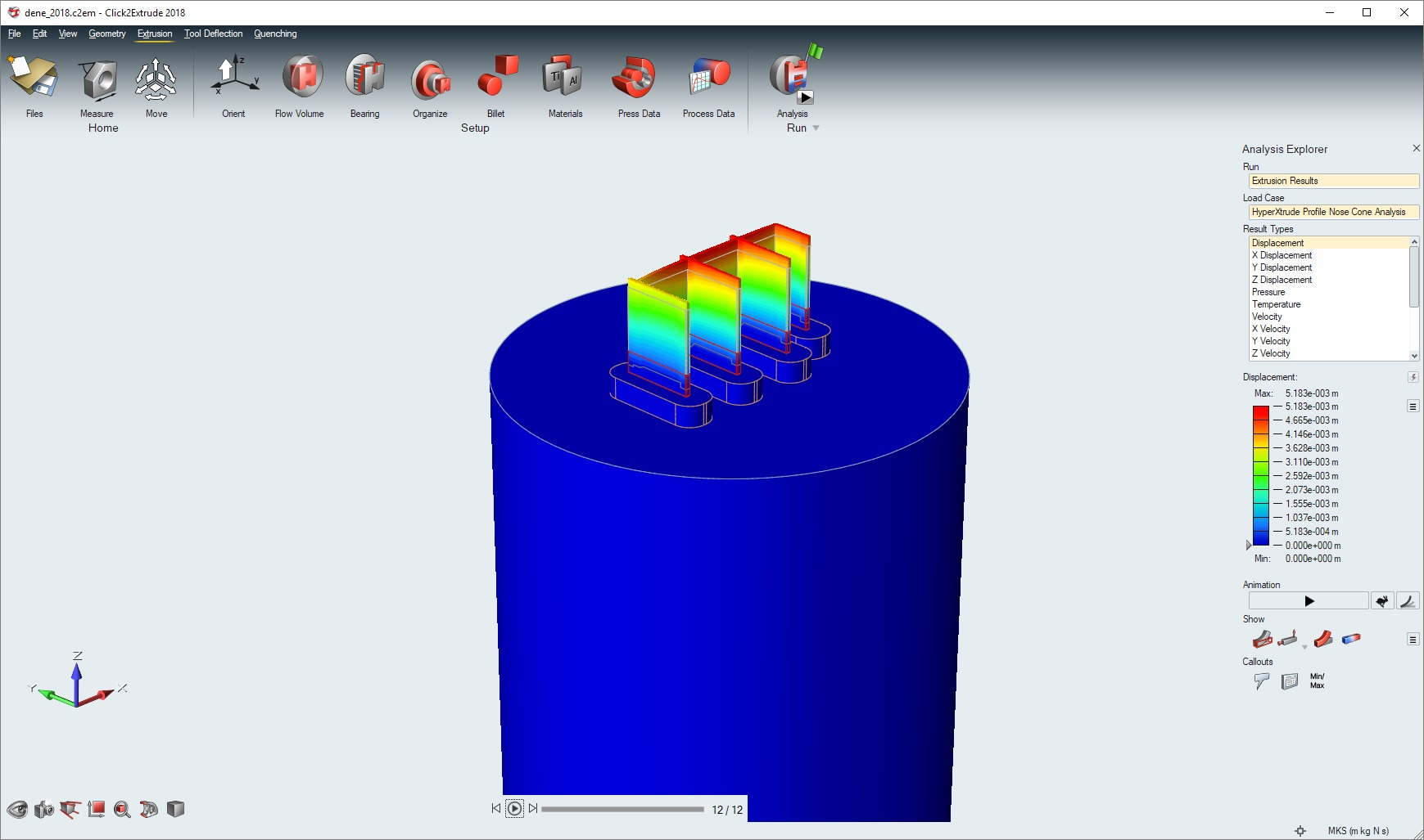 Simulation with solidThinking Click2Extrude 2018 full license
