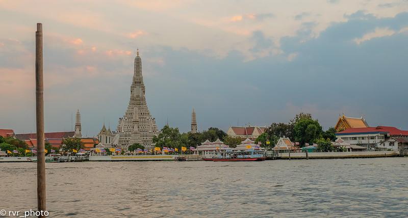 Atardecer en Wat Arun, Bangkok