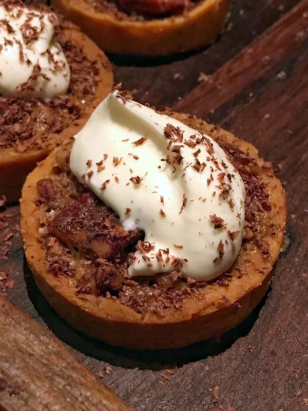 Chocolate Bourbon Pecan tarts from Gramercy Tavern