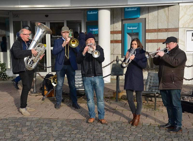 Harmonic Brass på stan