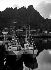 Ballstad i Lofoten