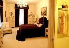 Vernon's bedroom - Graceland - the home of Elvis Presley