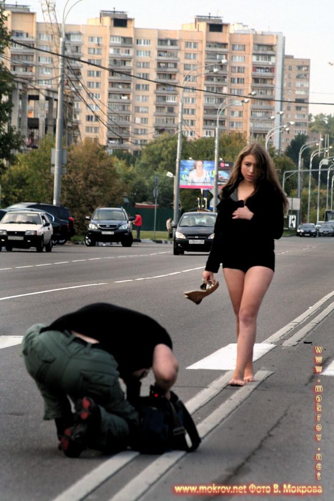 На съемках док. фильма «Западня» и фотозарисовки