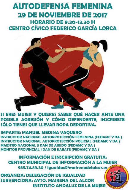 CARTEL AUTODEFENSA FEMENINA