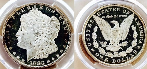 1883 PCGS MS64+DMPL Zoomed