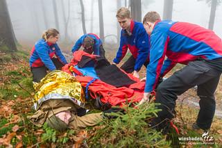 """""""GPS kann Leben retten"""" Bergwacht Gr. Feldberg 25.11.17"""