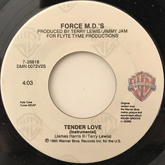 FORCE M.D.'S:TENDER LOVE(LABEL SIDE-B)