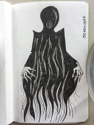 61 Inktober - Dementor