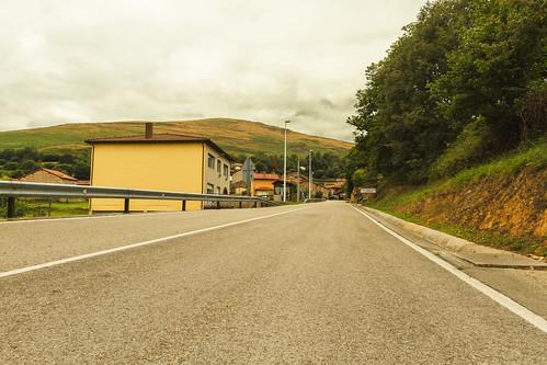 Entrada al pueblo de San Sebastian de Garabandal/Cantabria