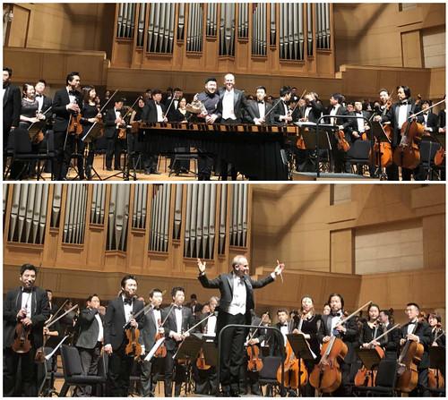 Concierto de la Orquesta Sinfónica de Beijing dirigida por Carlos Miguel Prieto