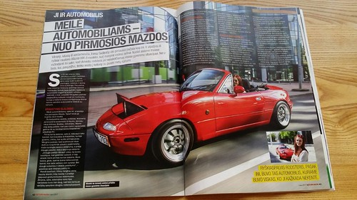 179 - guess who's wife made it to a automobile magazine | by justas.gudavicius