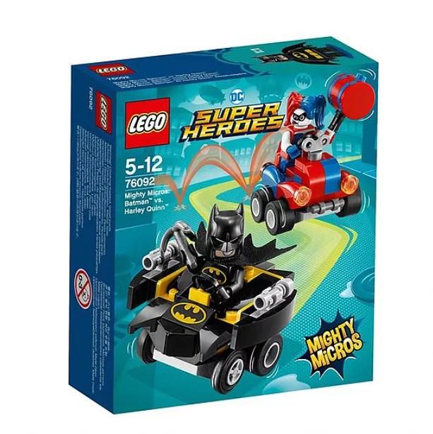 76092 Mighty Micros Batman vs. Harley Quinn