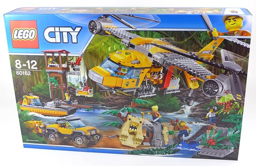 LEGO City Jungle 60162 Jungle Air Drop Helicopter 001