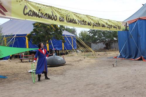 Muestra de circo Cuerda Firme 2017