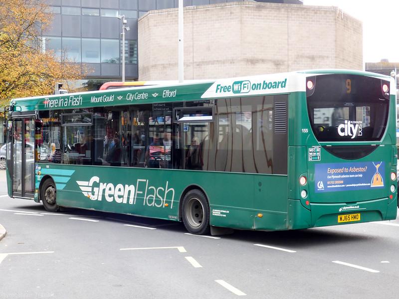 Plymouth Citybus 155 WJ65HMO
