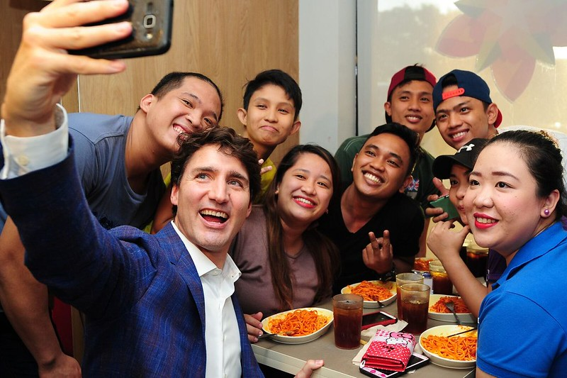 PM Trudeau at JB 8
