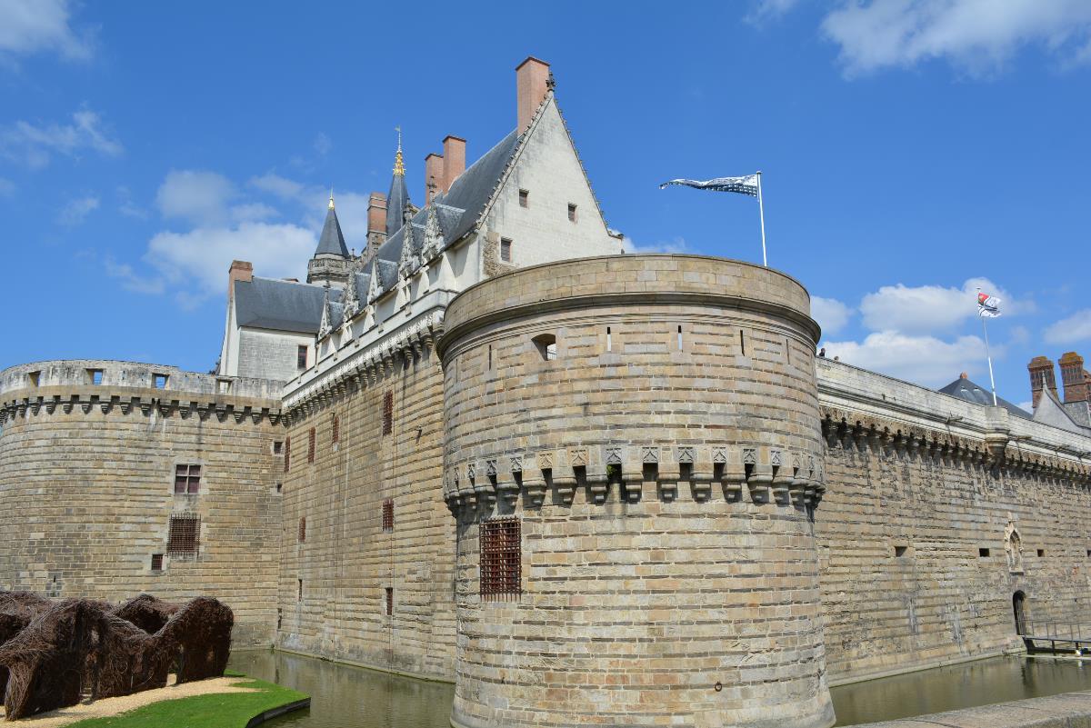 Nantes- Chateau des Ducs de     Bretagne