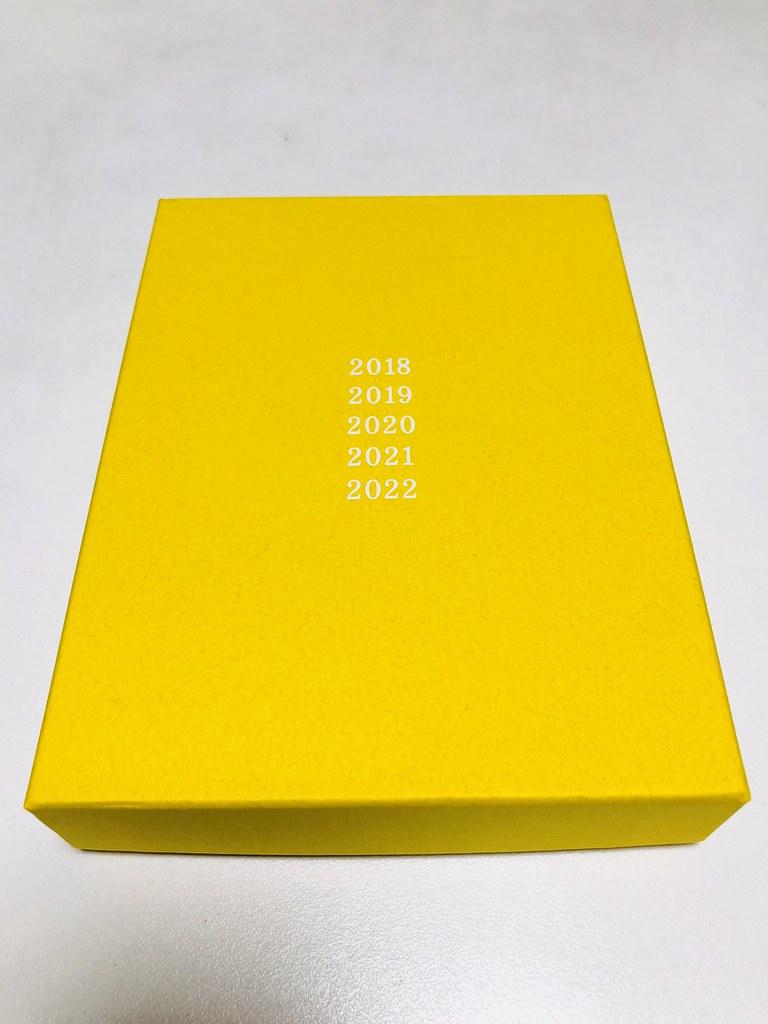 黄色い外箱