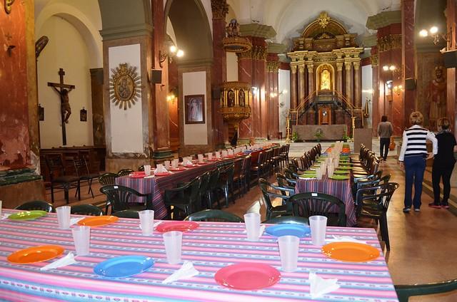Jornada Mundial de los Pobres: almuerzo en la catedral