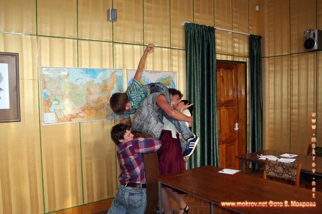 На съемках худ. фильма «Ласковый май» фотография