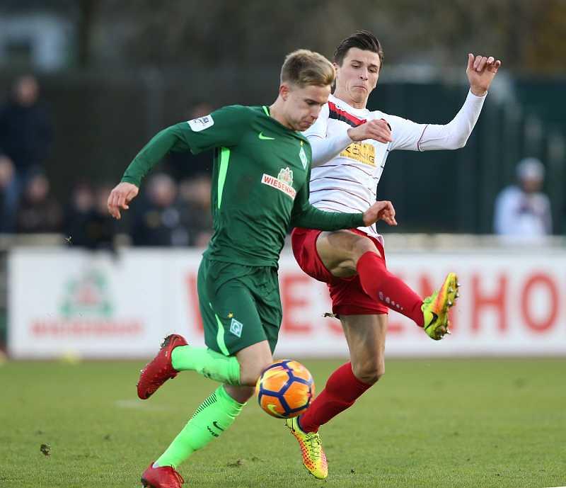 25.11.2017  SV Werder Bremen U23 vs. FC Rot-Weiss Erfurt