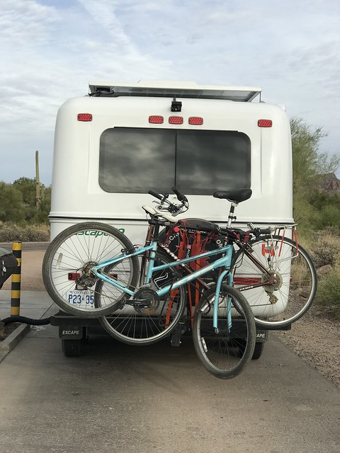 Lost Dutchman Bike Rack messed up