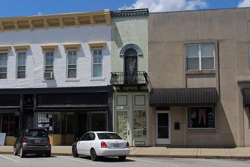 Skinny Building, Carrollton, KY